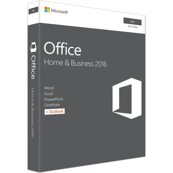Microsoft Office Mac 2016 pro domácnosti a podnikatele (český jazyk)