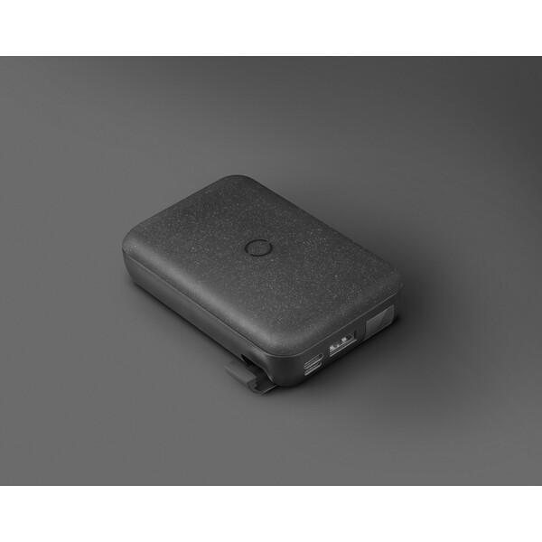 UNIQ HYDE AIR USB-C 18W PD powerbanka s bezdrátovým nabíjením 10000mAh uhlově šedá