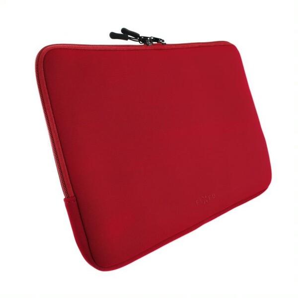 """Fixed neoprenový sleeve pro notebooky do 15,6 """" červený"""