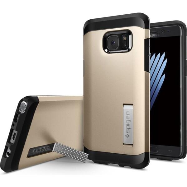 Spigen Tough Armor odolný kryt Samsung Galaxy Note 7 zlatý