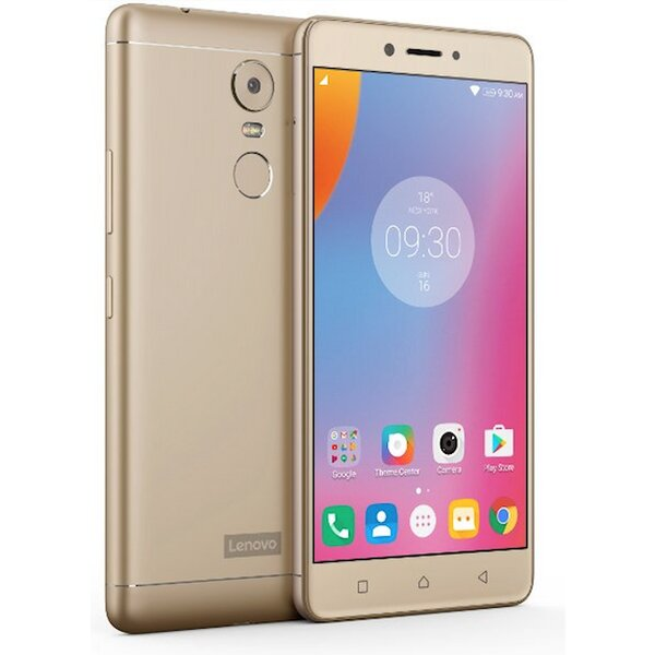 Lenovo K6 Note Dual SIM LTE zlatý