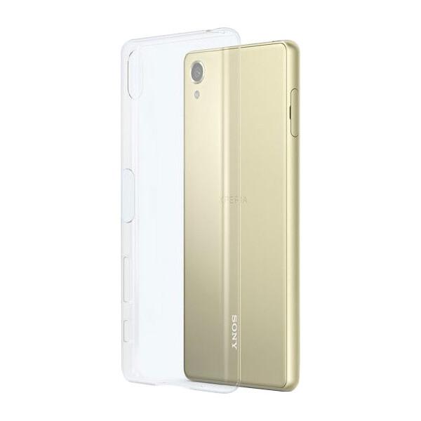 Pouzdro Sony SBC32 Style Cover Xperia XA Ultra Clear Čirá