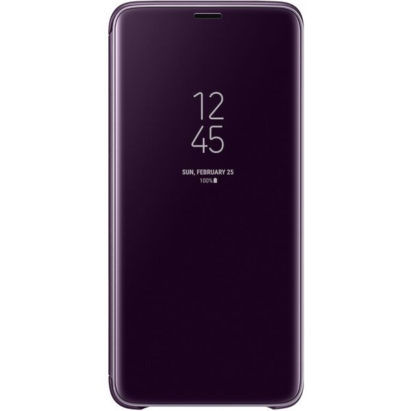 Samsung flipové pouzdro Clear View se stojánkem Samsung Galaxy S9+ fialová EF-ZG965CVEGWW Fialová