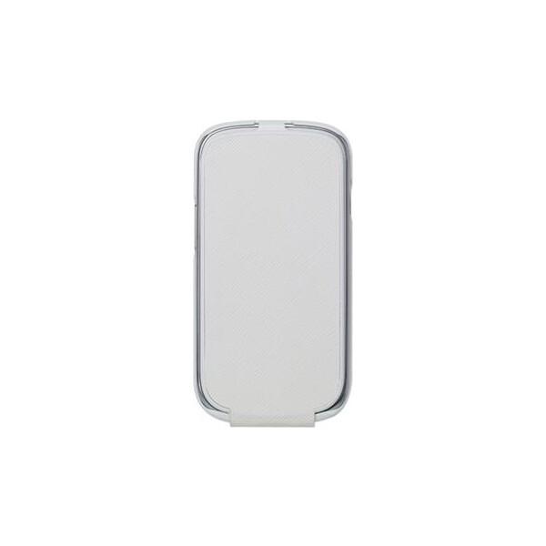 ANYMODE kožené pouzdro flap Samsung Galaxy S3 Mini bílé