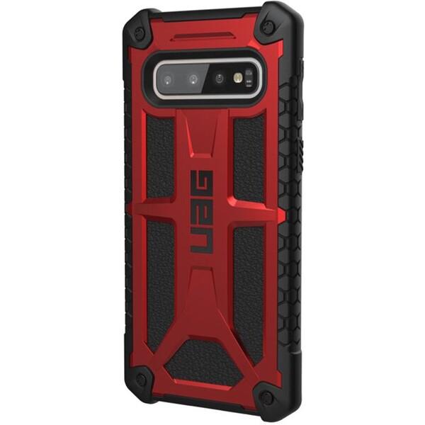 UAG Monarch pouzdro Samsung Galaxy S10 červené