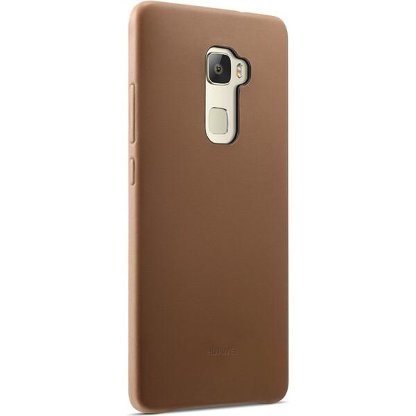 Huawei kožené pouzdro Mate S hnědé