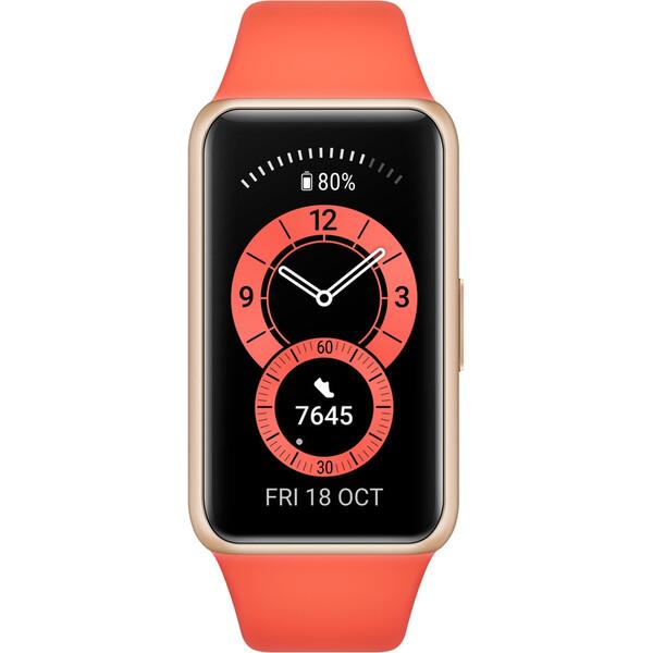 Huawei Band 6 oranžový