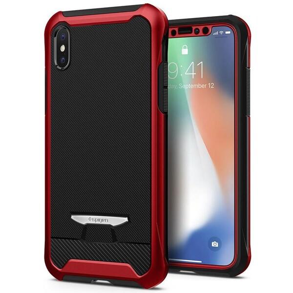 Spigen Signature Neo Hybrid ochranný kryt Apple iPhone X červený d334b059048