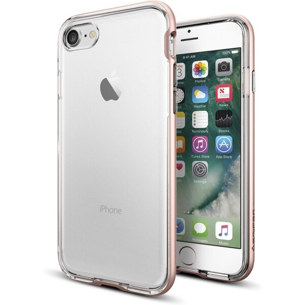 Spigen Neo Hybrid Crystal kryt Apple iPhone 7 růžový