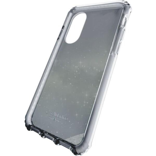 Pouzdro CellularLine Tetra Force Apple iPhone X - bílé Bílá