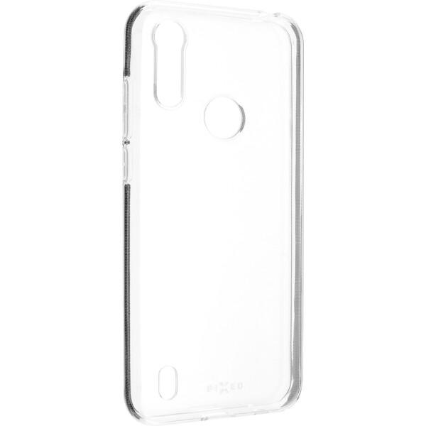 FIXED TPU pouzdro Motorola Moto E6s čiré