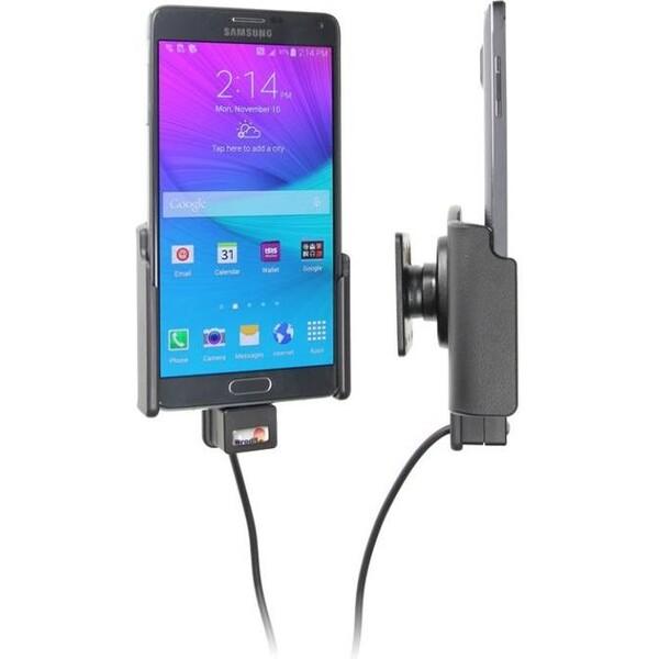 Brodit držák do auta Samsung Galaxy Note 4 s nabíjením z cig. zapalovače