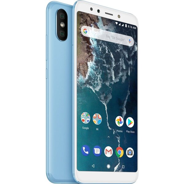 Xiaomi Mi A2 Global 6GB/128GB Modrá