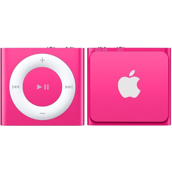 Apple iPod shuffle 2GB MKM72HC/A Růžová