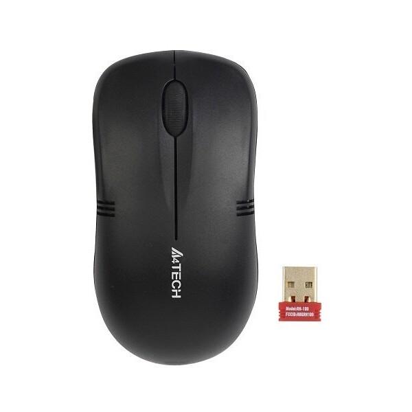 A4Tech G3-230N-1 bezdrátová myš černá