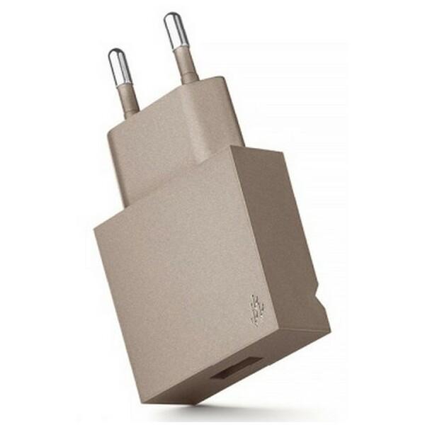 USBEPOWER POP cestovní nabíječka USB 1A hnědá