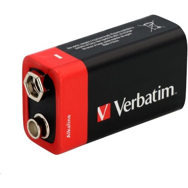 Verbatim alkalická baterie 9V,1x