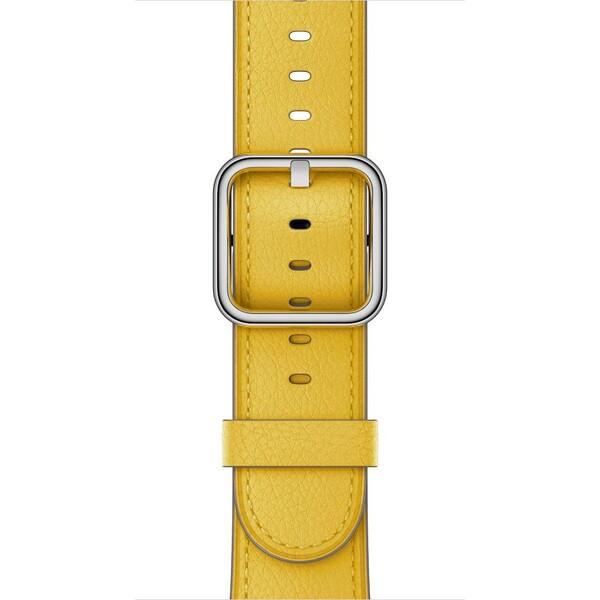 Apple Watch 42mm slunečnicový řemínek s klasickou přezkou Slunečnicová