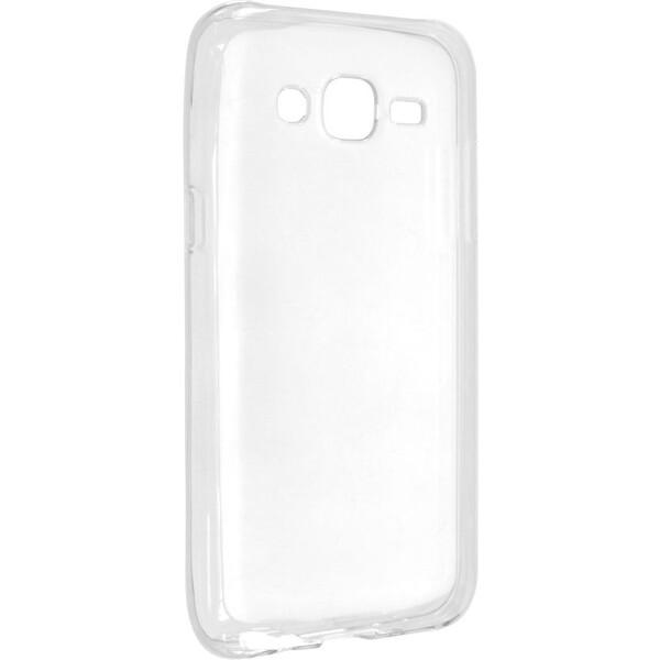 Pouzdro FIXED TPU gelové Samsung Galaxy J5 čiré Čirá