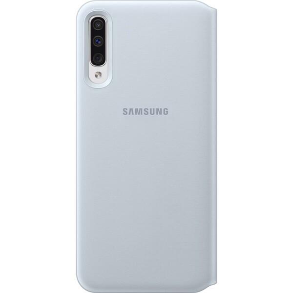 Samsung EF-WA505PB flip pouzdro Samsung Galaxy A50 bílé