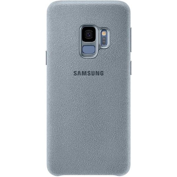 Samsung zadní kryt z kůže Alcantara Samsung Galaxy S9 mentolové EF-XG960AMEGWW Mentolová