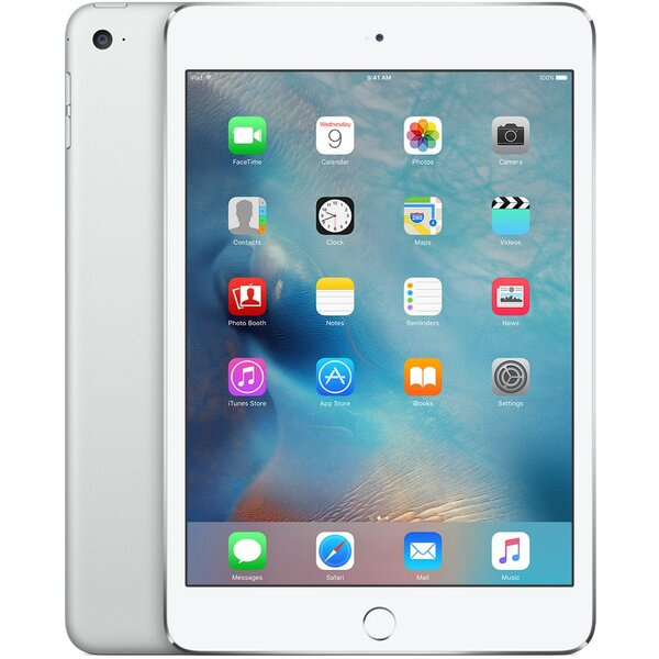 Apple iPad mini 4 128GB Wi-Fi + Cellular MK772FD/A Stříbrná