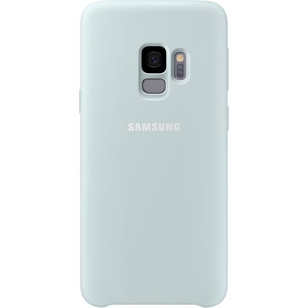 Samsung silikonový zadní kryt Samsung Galaxy S9 mentolový EF-PG960TLEGWW Mentolová