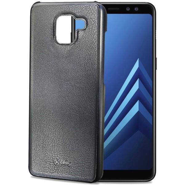 CELLY GHOSTCOVER magnetický držák do držáku Ghost Samsung Galaxy A8 (2018) černý GHOSTCOVER705BK Černá