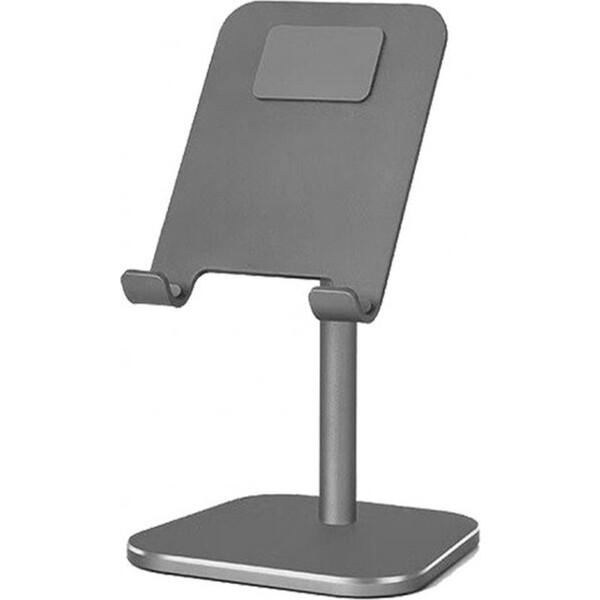 COTEetCI SD-16 mini hliníkový podstavec pro mobilní telefony šedý