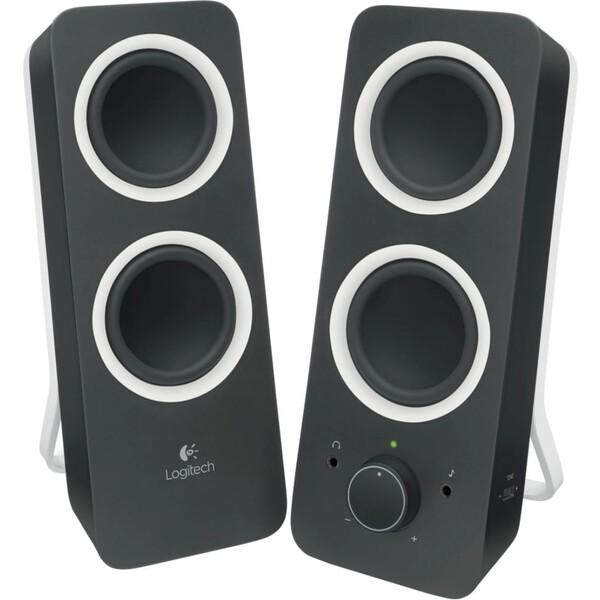 Logitech Z200 stereo reproduktory černé
