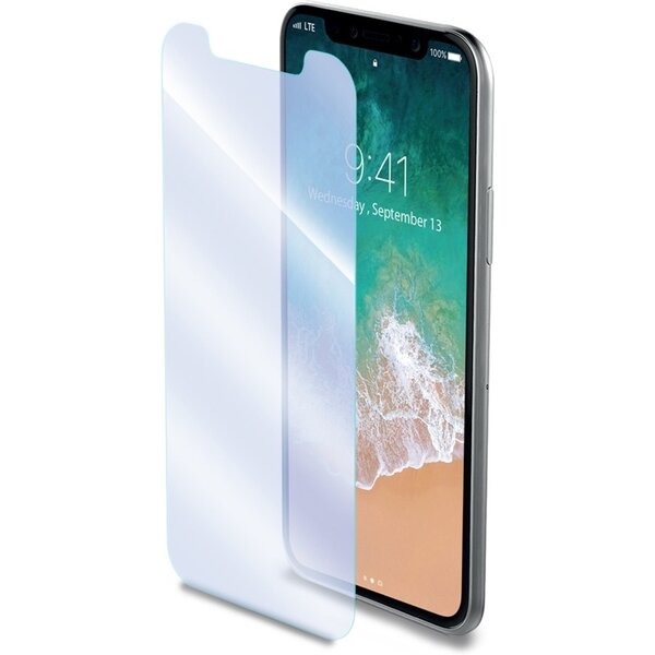 CELLY Glass ochranné tvrzené sklo se speciální antiblueray vrstvou pro mobilní telefon Apple iPhone Čirá