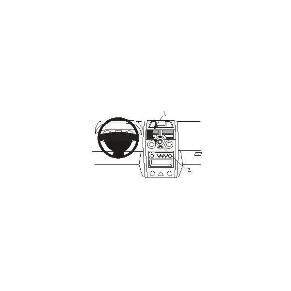 Brodit ProClip montážní konzole pro Renault Megane