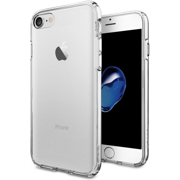 Pouzdro Spigen Ultra Hybrid iPhone 7 crystal clear Čirá