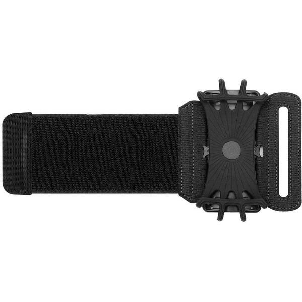 """Smarty sportovní pouzdro na zápěstí s úhlem 180° (4,5"""" - 5,5"""" ) černé"""