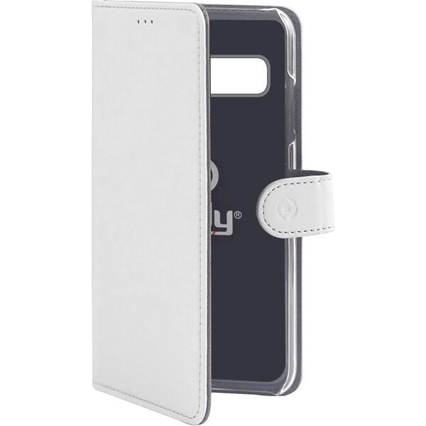 CELLY Wally pouzdro Samsung Galaxy S10 bílé