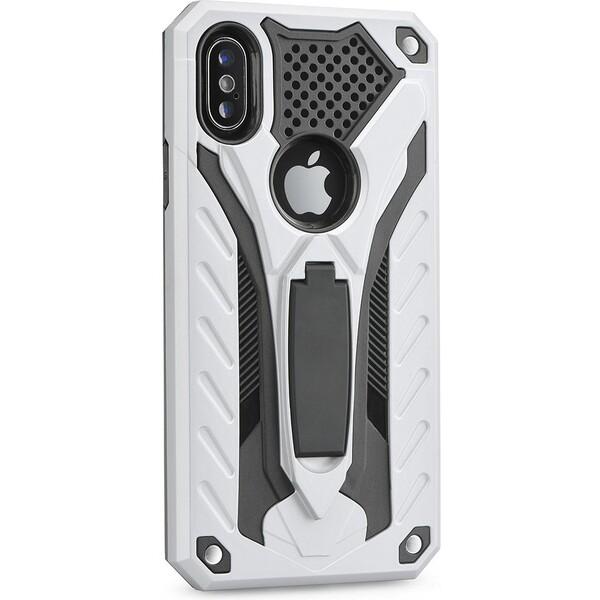 Forcell PHANTOM odolné pouzdro Huawei P20 Lite stříbrné