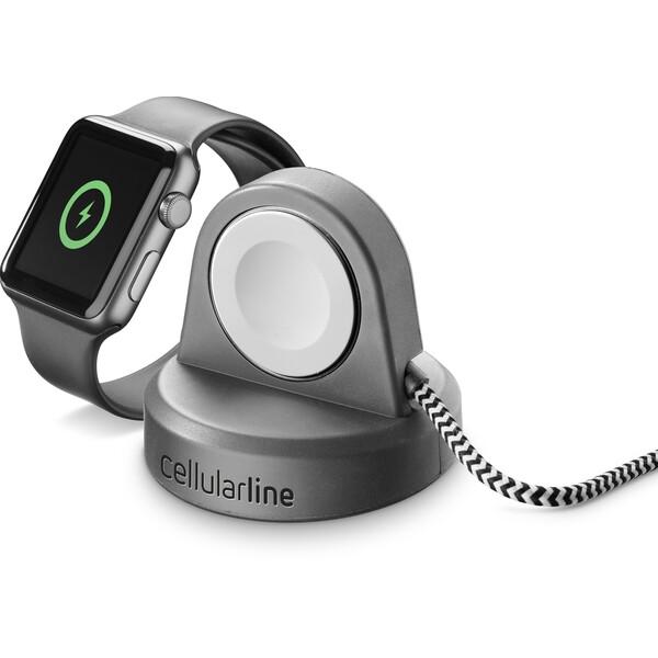 Cellularline Power Dock nabíjecí stojánek pro Apple Watch