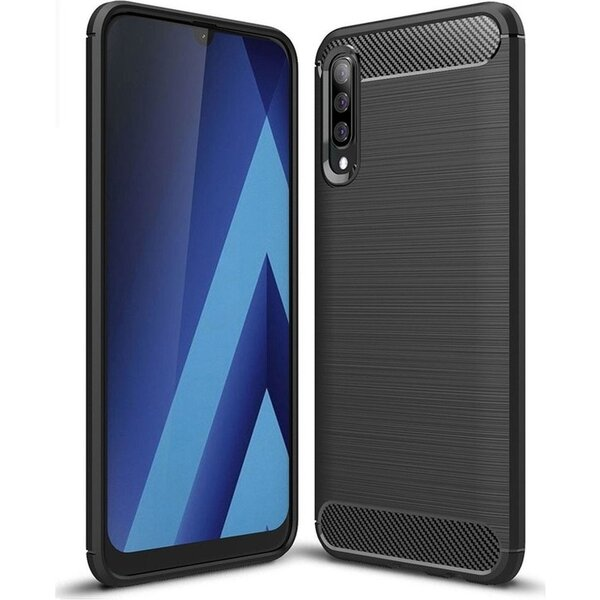 Forcell CARBON pouzdro Samsung Galaxy A70 černé