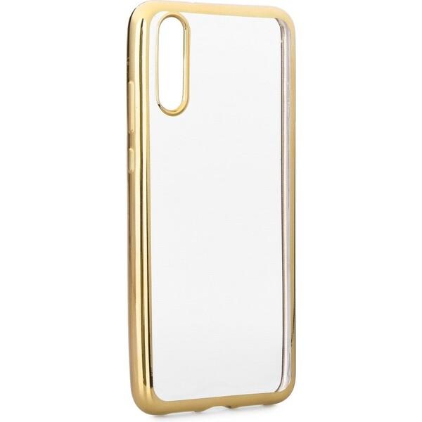 Smarty Electro TPU pouzdro Huawei P20 zlaté fab65b987a9