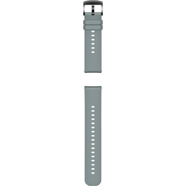 Huawei silikonový 20mm řemínek Watch GT/GT2 světle šedý