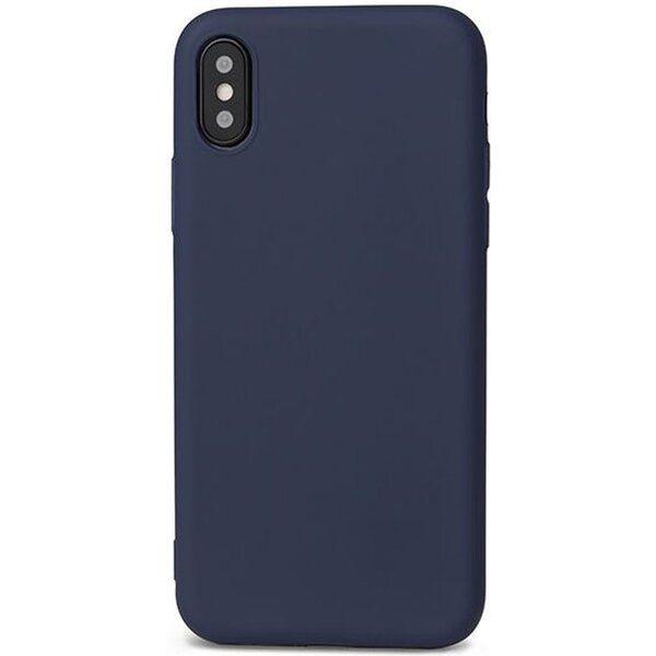iWant Silicone ochranné pouzdro Apple iPhone X modré