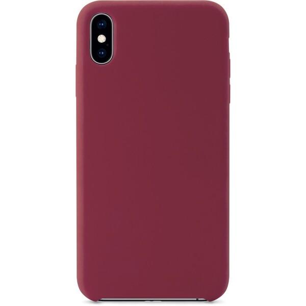 iWant silikonový kryt Apple iPhone X/XS tmavě-růžový