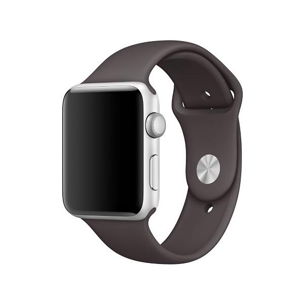 Apple Watch sportovní řemínek 38mm kakaově hnědý