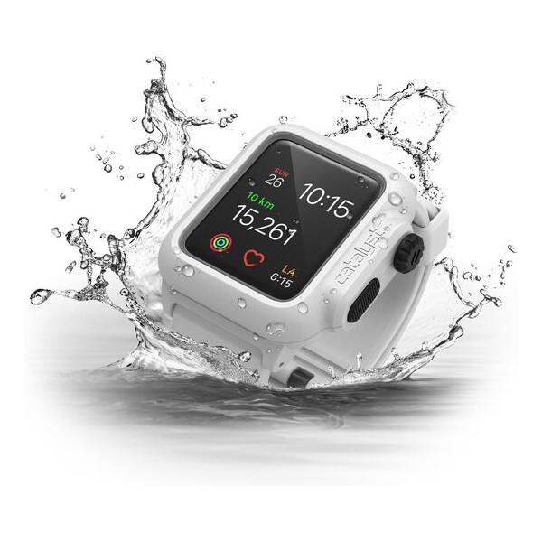 Catalyst odolné vodotěsné pouzdro Apple Watch Series 2 38mm bílé