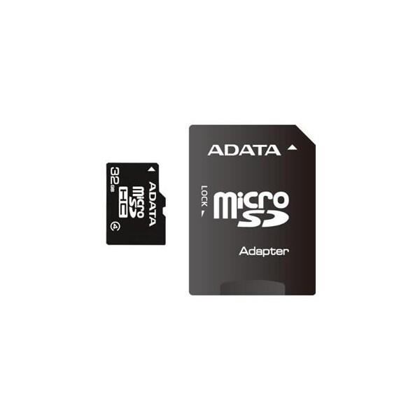 ADATA microSD 32GB Class 4 AUSDH32GCL4-R Černá