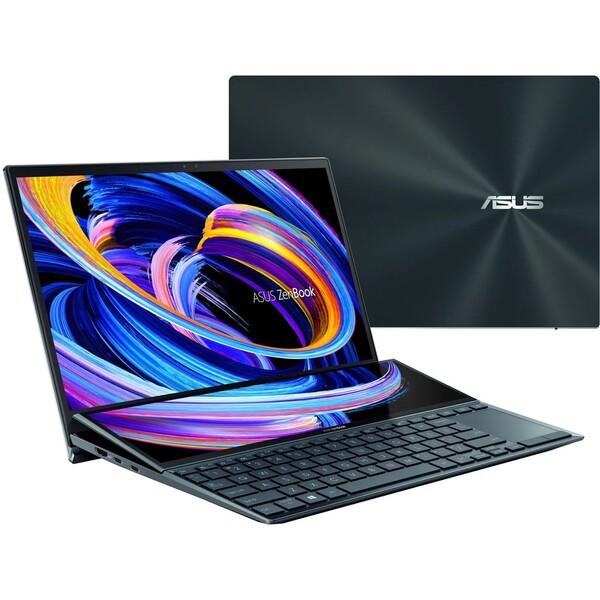ASUS Zenbook Duo 14 (UX482EA-HY037R) modrý