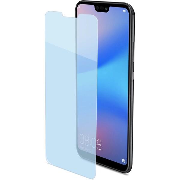 CELLY Easy Glass 2D Huawei P20 Lite EASY744 Čirá