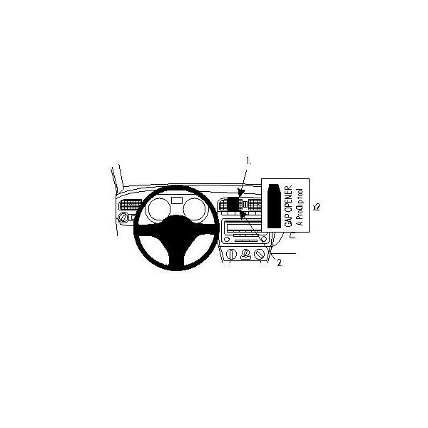 Brodit ProClip montážní konzole pro Volkswagen Polo 10-