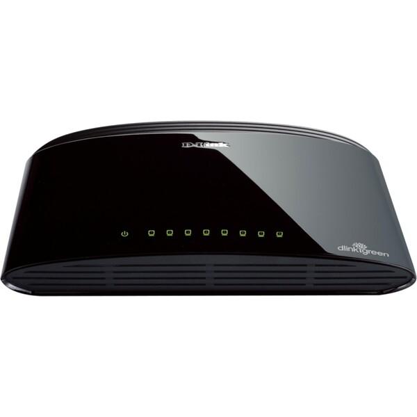 D-Link DES-1008D 8-portový 10/100 Desktop Switch