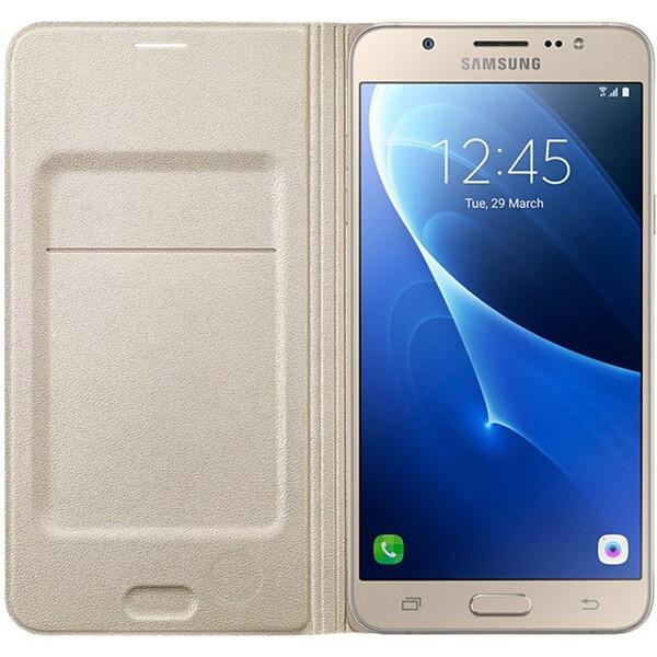 Pouzdro Samsung EF-WJ510PF zlaté Zlatá